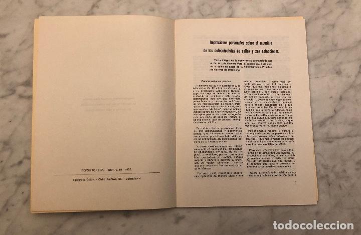 Libros antiguos: Impresiones personales sobre el mundillo de los coleccionistas de sellos y sus colecciones -LCV(13€) - Foto 2 - 166717698