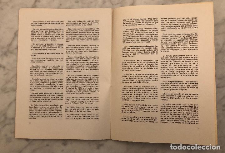 Libros antiguos: Impresiones personales sobre el mundillo de los coleccionistas de sellos y sus colecciones -LCV(13€) - Foto 4 - 166717698