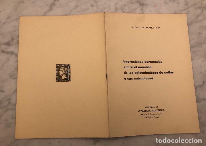 Libros antiguos: Impresiones personales sobre el mundillo de los coleccionistas de sellos y sus colecciones -LCV(13€) - Foto 5 - 166717698