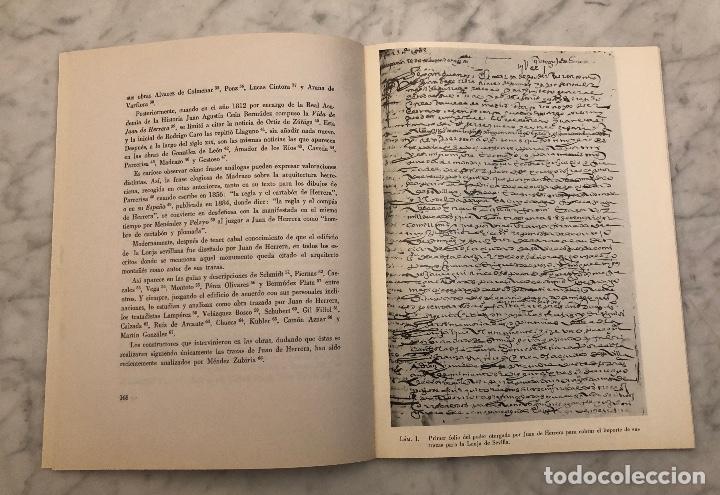 Libros antiguos: Juan de Herrera diseña la lonja de Sevilla -RABASF-LCV(13€) - Foto 2 - 166717806