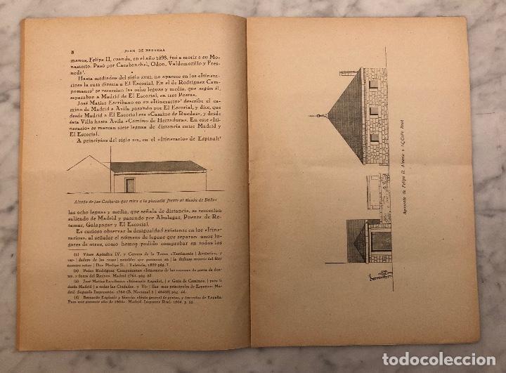 Libros antiguos: JUAN DE HERRERA Y EL APOSENTO DE FELIPE II EN TORRELODONES(13€) - Foto 3 - 166717906
