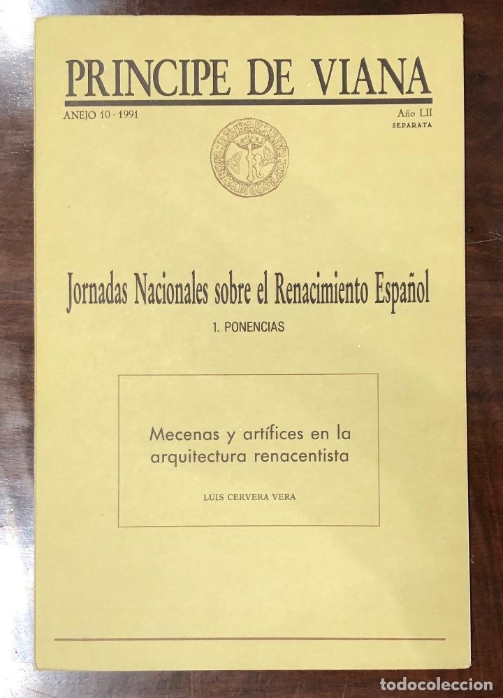 MECENASY ARTISTAS EN LA ARQUITECTURA RENACENTISTA-PONENCIA-LCV(13€) (Libros Antiguos, Raros y Curiosos - Bellas artes, ocio y coleccion - Arquitectura)