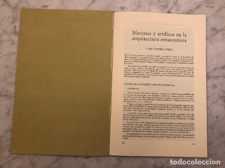 Libros antiguos: Mecenasy Artistas en la arquitectura renacentista-PONENCIA-LCV(13€) - Foto 2 - 166718058
