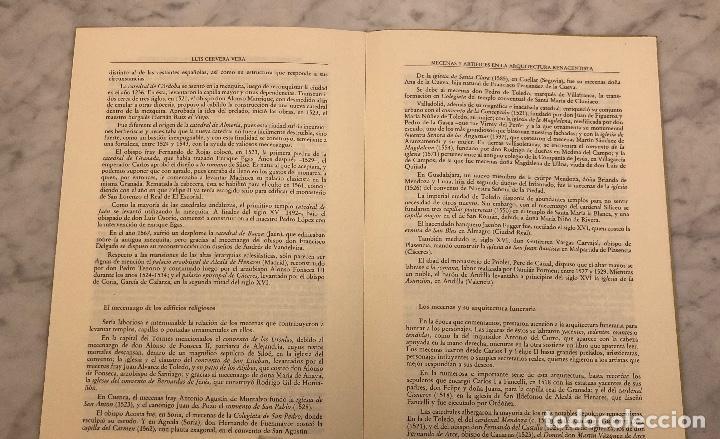 Libros antiguos: Mecenasy Artistas en la arquitectura renacentista-PONENCIA-LCV(13€) - Foto 3 - 166718058