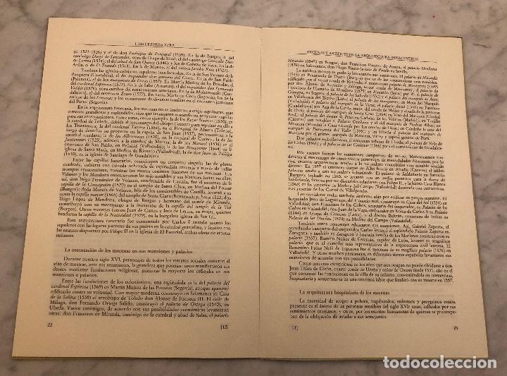 Libros antiguos: Mecenasy Artistas en la arquitectura renacentista-PONENCIA-LCV(13€) - Foto 4 - 166718058