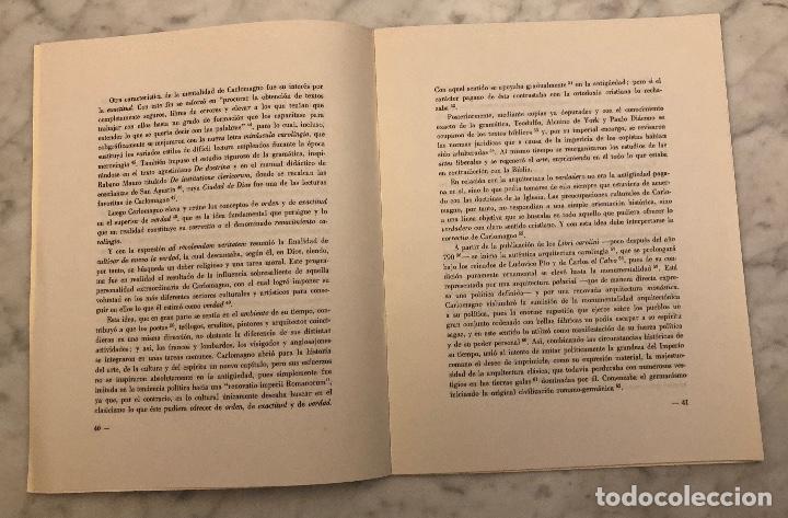 Libros antiguos: Notas para un estudio sobre la influencia deVitrubio en el renacimiento carolingio-LCV(13€) - Foto 3 - 166718142