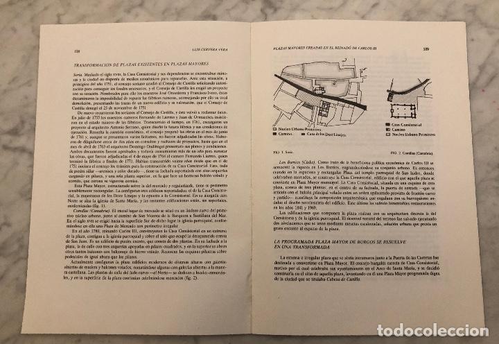 Libros antiguos: Plazas mayores creadas en el reinado de Carlos III-LCV(13€) - Foto 2 - 166718738