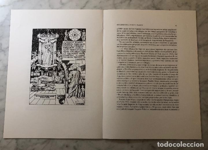 Libros antiguos: Recuerdo de Luis Moya blanco-RABASF-LCV(13€) - Foto 3 - 166724842