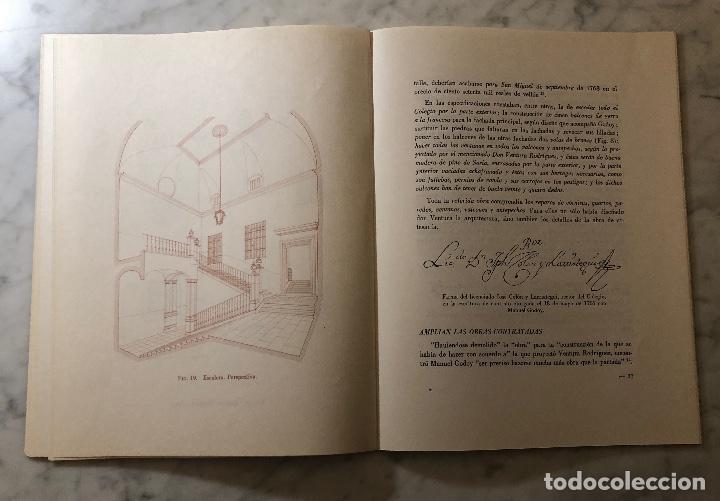 Libros antiguos: Reformas de Ventura Rodríguez en el vallisoletano colegio mayor de Santa Cruz-LCV(13€) - Foto 4 - 166724886