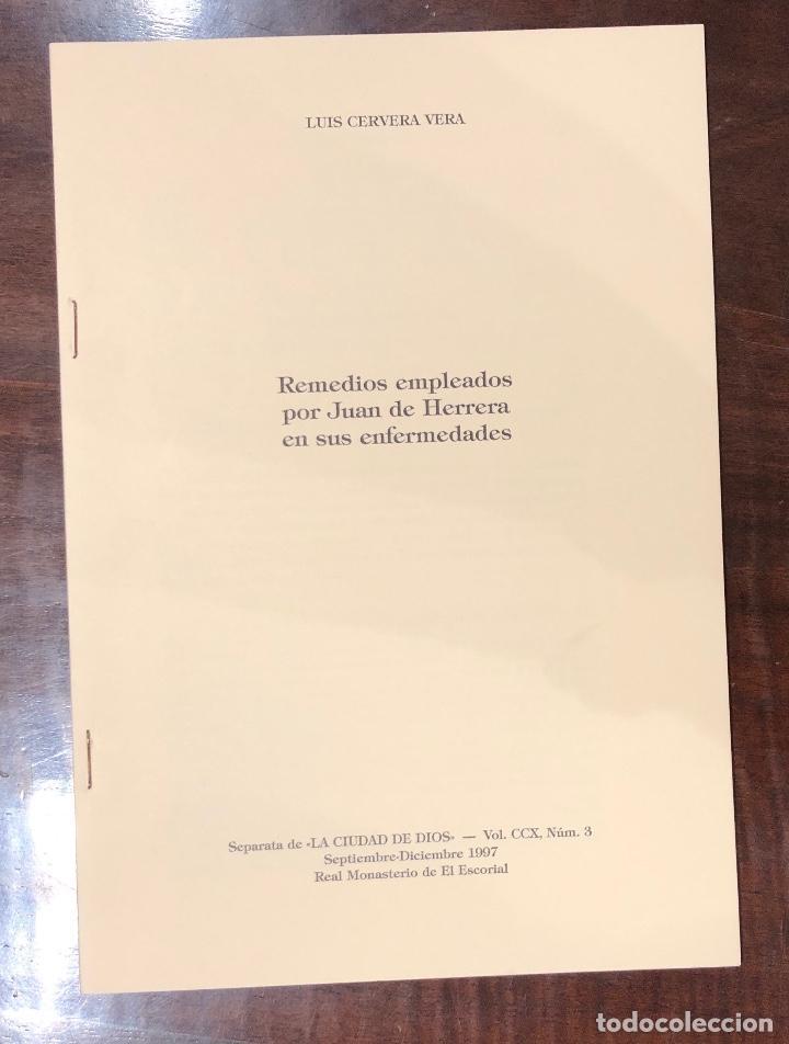 REMEDIOS EMPLEADOS POR JUAN DE HERRERA EN SUS ENFERMEDADES-LCV(13€) (Libros Antiguos, Raros y Curiosos - Bellas artes, ocio y coleccion - Arquitectura)