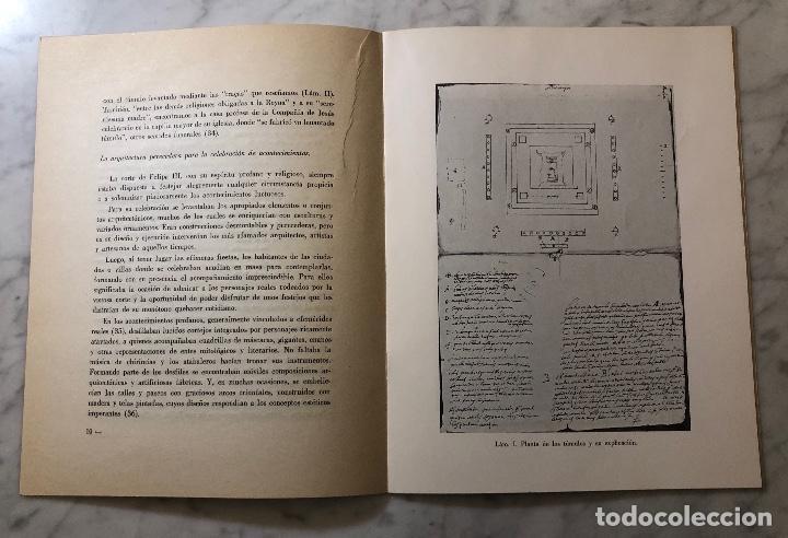 Libros antiguos: Tumulos reales diseñados por Francisco de Mora-LCV(13€) - Foto 2 - 166725086