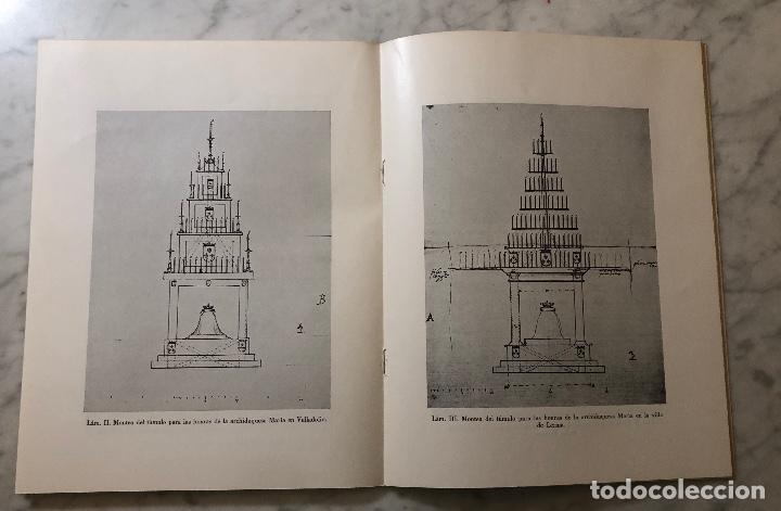 Libros antiguos: Tumulos reales diseñados por Francisco de Mora-LCV(13€) - Foto 3 - 166725086
