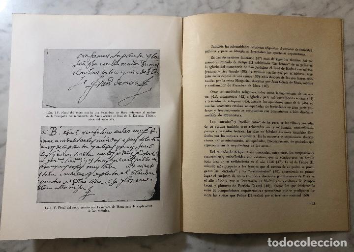 Libros antiguos: Tumulos reales diseñados por Francisco de Mora-LCV(13€) - Foto 4 - 166725086