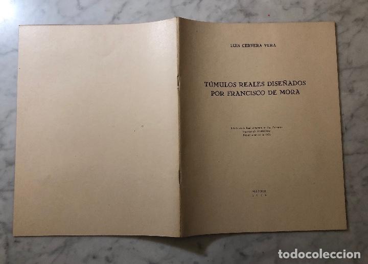 Libros antiguos: Tumulos reales diseñados por Francisco de Mora-LCV(13€) - Foto 5 - 166725086
