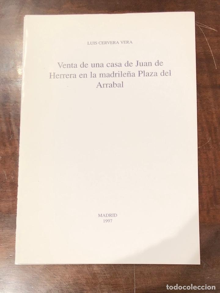 VENTA DE UNA CASA DE JUAN DE HERRERA EN LA MADRILEÑA PLAZA DE ARRABAL-LCV(13€) (Libros Antiguos, Raros y Curiosos - Bellas artes, ocio y coleccion - Arquitectura)