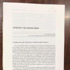Libros antiguos: VENTA DE UNA CASA DE JUAN DE HERRERA EN LA MADRILEÑA PLAZA DE ARRABAL-LCV(13€). Lote 166725214
