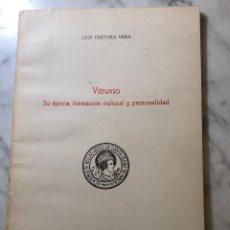 Libros antiguos: VITRUBIO. SU ÉPOCA FORMACIÓN CULTURAL Y PERSONALIDAD. SEVILLA-RASIH-LCV(13€). Lote 166725290
