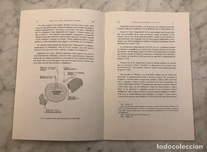Libros antiguos: La ciudad ideal concebida en el siglo XV por el humanista Sánchez de Arévalo-RABASF-LCV(13€) - Foto 3 - 166726354
