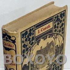 Libros antiguos: CASALI. L. MODELOS DE EDIFICIOS ECONÓMICOS. CASAS BARATAS, VILAS Y GRANJAS. VERSIÓPN DEL DR. E. RUIZ. Lote 166816341