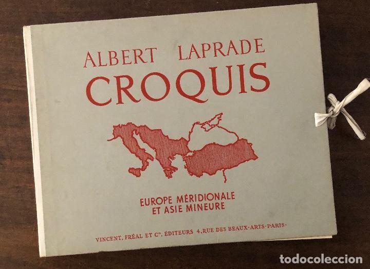Libros antiguos: CROQUIS-ALBERT LAPRADE-5TOMOS(75€) - Foto 5 - 167470773