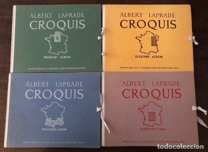 Libros antiguos: CROQUIS-ALBERT LAPRADE-5TOMOS(75€) - Foto 6 - 167470773