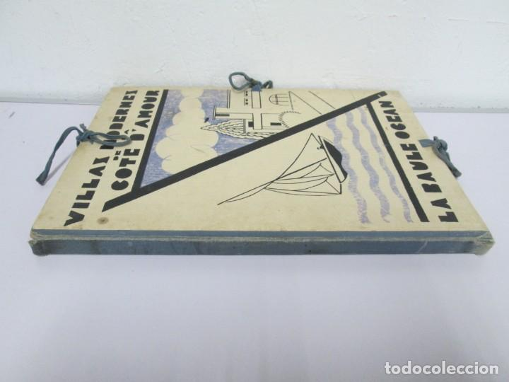 Libros antiguos: VILLAX MODERNES DE LA COTE D´AMOUR. LA BAULE OCEAN. J. GAUTHIER. 1930. ARQUITECTURA VILLAS MODERNAS. - Foto 2 - 167874084