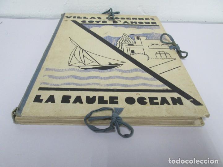 Libros antiguos: VILLAX MODERNES DE LA COTE D´AMOUR. LA BAULE OCEAN. J. GAUTHIER. 1930. ARQUITECTURA VILLAS MODERNAS. - Foto 3 - 167874084