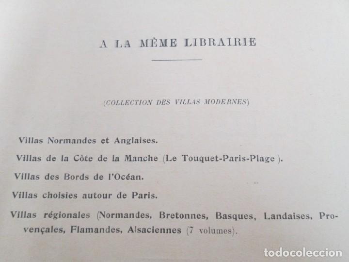 Libros antiguos: VILLAX MODERNES DE LA COTE D´AMOUR. LA BAULE OCEAN. J. GAUTHIER. 1930. ARQUITECTURA VILLAS MODERNAS. - Foto 8 - 167874084