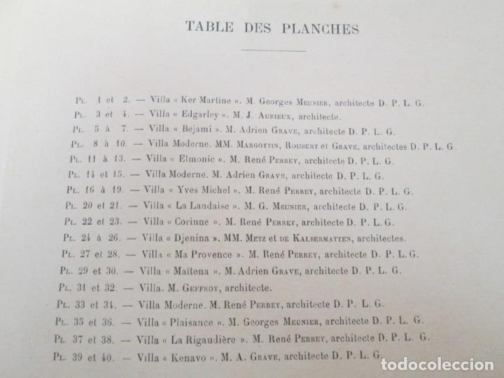 Libros antiguos: VILLAX MODERNES DE LA COTE D´AMOUR. LA BAULE OCEAN. J. GAUTHIER. 1930. ARQUITECTURA VILLAS MODERNAS. - Foto 9 - 167874084