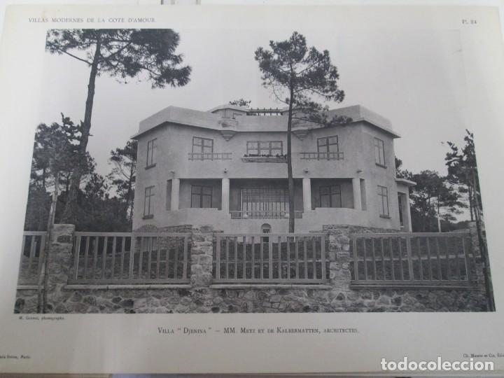 Libros antiguos: VILLAX MODERNES DE LA COTE D´AMOUR. LA BAULE OCEAN. J. GAUTHIER. 1930. ARQUITECTURA VILLAS MODERNAS. - Foto 19 - 167874084