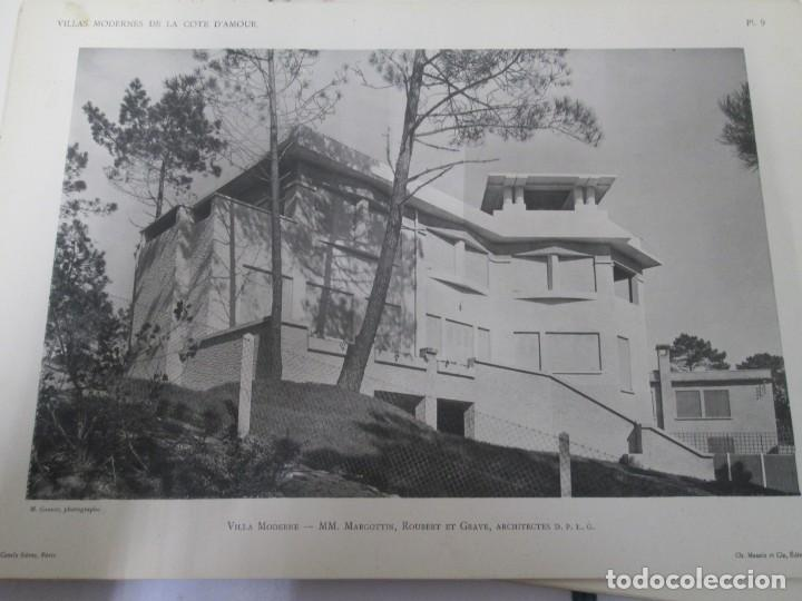 Libros antiguos: VILLAX MODERNES DE LA COTE D´AMOUR. LA BAULE OCEAN. J. GAUTHIER. 1930. ARQUITECTURA VILLAS MODERNAS. - Foto 22 - 167874084