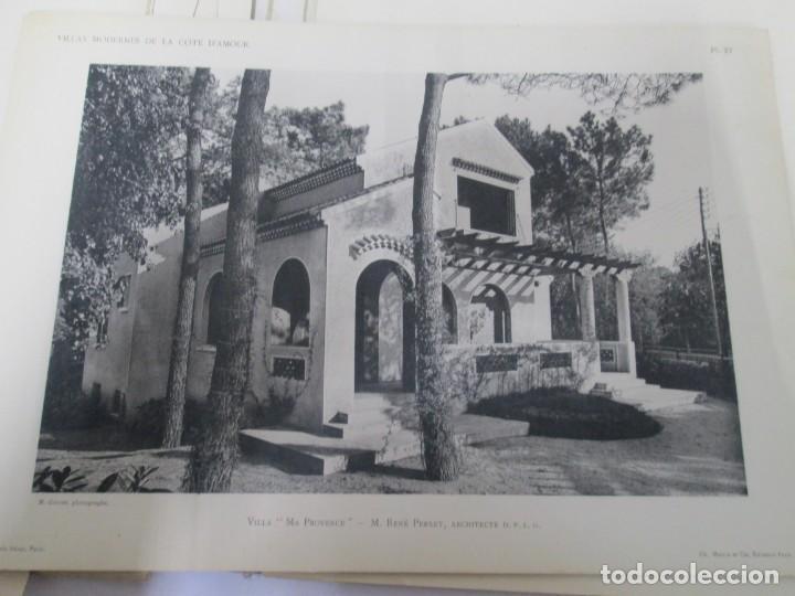 Libros antiguos: VILLAX MODERNES DE LA COTE D´AMOUR. LA BAULE OCEAN. J. GAUTHIER. 1930. ARQUITECTURA VILLAS MODERNAS. - Foto 23 - 167874084