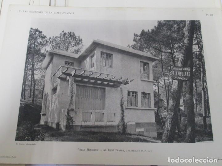 Libros antiguos: VILLAX MODERNES DE LA COTE D´AMOUR. LA BAULE OCEAN. J. GAUTHIER. 1930. ARQUITECTURA VILLAS MODERNAS. - Foto 24 - 167874084