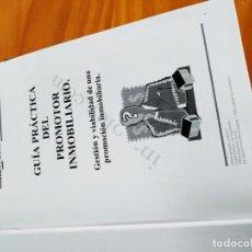 Libros antiguos: LIBROS PROMOTOR INMOBILIARIO INMOLEY INMOBILIARIA CONSTRUCCION . Lote 167995464