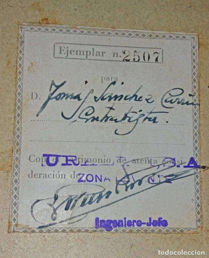 Libros antiguos: LA URALITA EN LOS EDIFICIOS AÑO 1935 - Foto 2 - 168544604