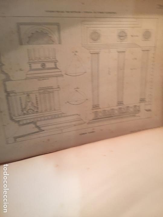 Libros antiguos: Antiguo libro tratado practico de arquitectura por Vignola Palladio Scamozzi año 1931 - Foto 5 - 168644876