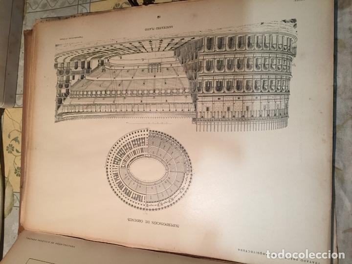 Libros antiguos: Antiguo libro tratado practico de arquitectura por Vignola Palladio Scamozzi año 1931 - Foto 9 - 168644876