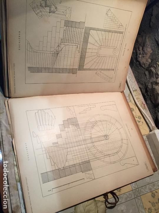 Libros antiguos: Antiguo libro tratado practico de arquitectura por Vignola Palladio Scamozzi año 1931 - Foto 10 - 168644876