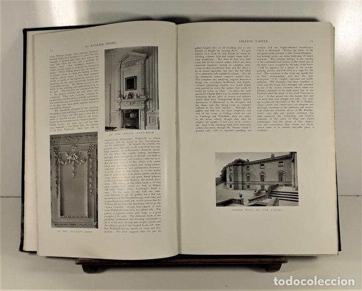 Libros antiguos: IN ENGLISH HOMES. VOLUM III. CHARLES LATHAM. PUBLI. COUNTRY LIFE. LONDON. 1909. - Foto 5 - 168835352