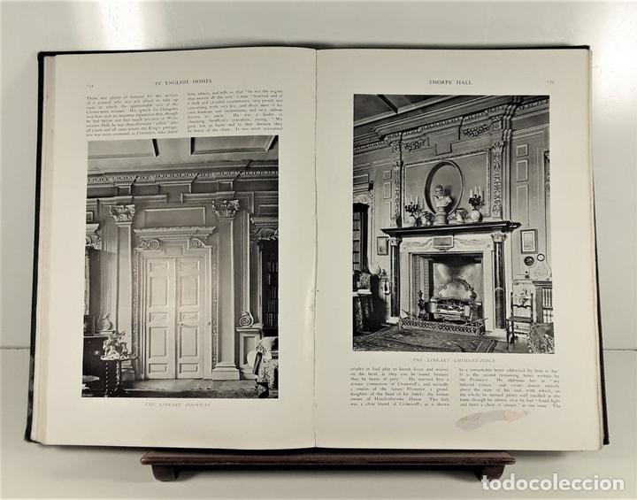 Libros antiguos: IN ENGLISH HOMES. VOLUM III. CHARLES LATHAM. PUBLI. COUNTRY LIFE. LONDON. 1909. - Foto 6 - 168835352