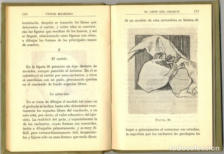 Libros antiguos: EL ARTE DEL CROQUIS - MANUALES GALLACH Nº 124 -1924 - Foto 3 - 169048844