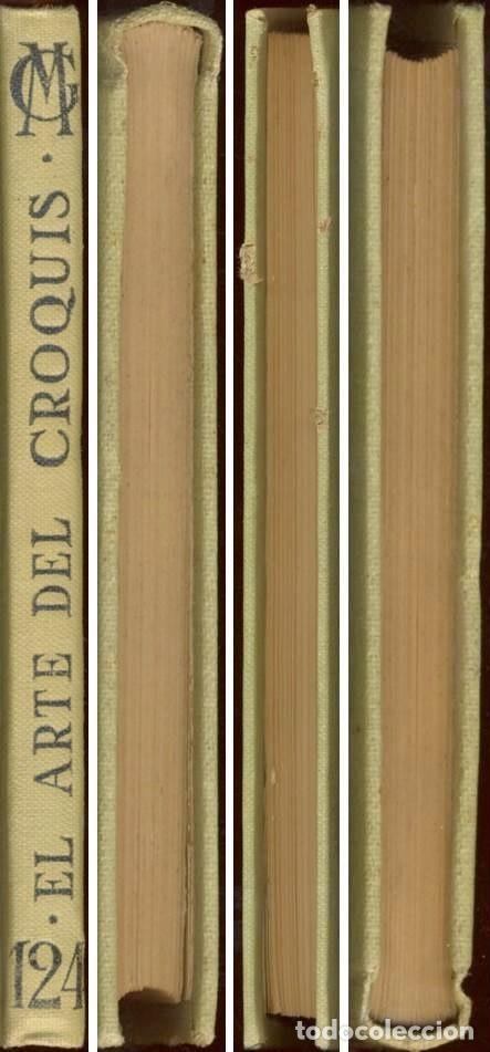 Libros antiguos: EL ARTE DEL CROQUIS - MANUALES GALLACH Nº 124 -1924 - Foto 6 - 169048844