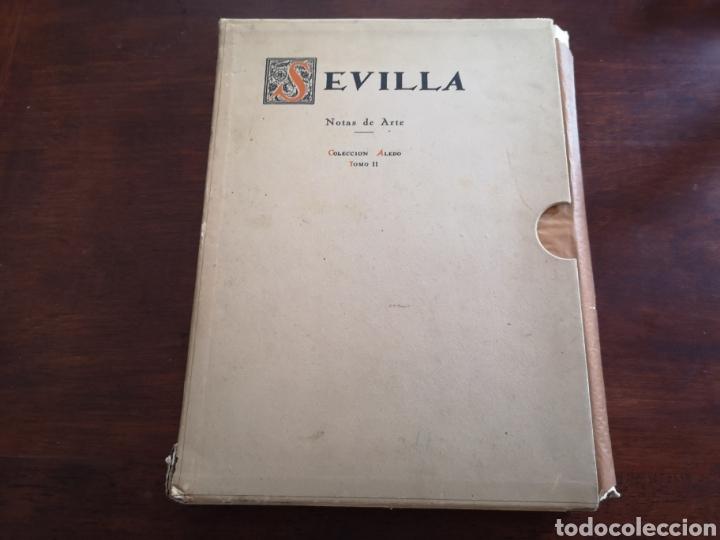 Libros antiguos: Sevilla notas de arte. Colección Aledo tomo 2. Dedicado marqués de Aledo. - Foto 2 - 195346218