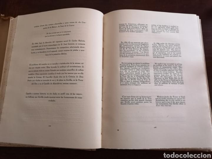 Libros antiguos: Sevilla notas de arte. Colección Aledo tomo 2. Dedicado marqués de Aledo. - Foto 7 - 195346218