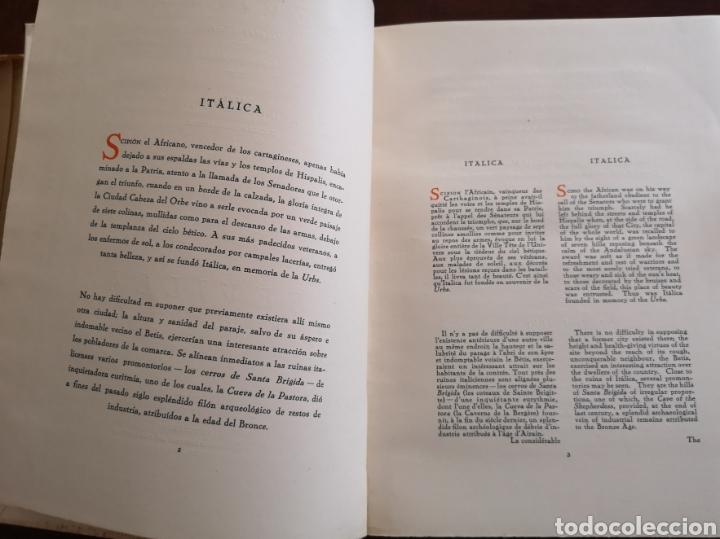 Libros antiguos: Sevilla notas de arte. Colección Aledo tomo 2. Dedicado marqués de Aledo. - Foto 8 - 195346218