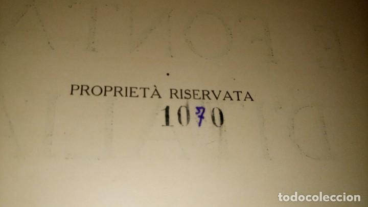 Libros antiguos: ~~~~ LE FONTANE D´ITALIA, ARDUINO COLASANTI - CASA EDITRICE D´ARTE BESTETTI &TVMMINELLI-MILANO ~~~~ - Foto 4 - 169199220