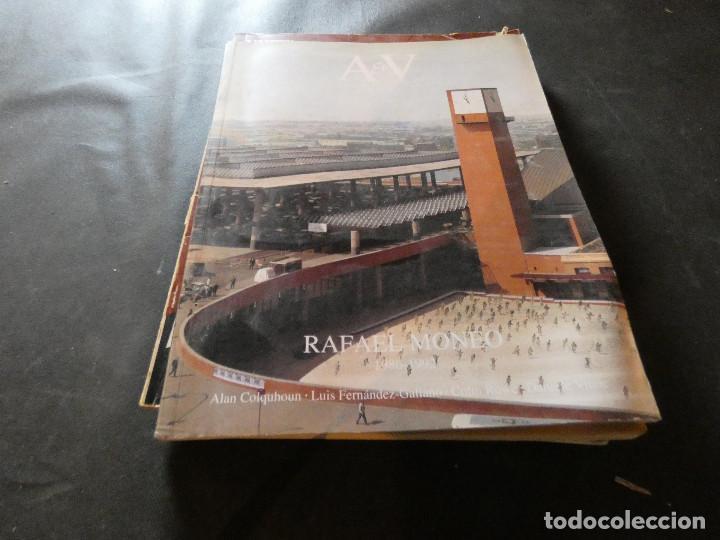 A & V MONOGRAFICO DE ARQUITECTURA Y VIVIENDA RAFAEL MONEO 1986-1992 PESA 600 GRAMOS (Libros Antiguos, Raros y Curiosos - Bellas artes, ocio y coleccion - Arquitectura)