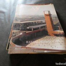 Libros antiguos: A & V MONOGRAFICO DE ARQUITECTURA Y VIVIENDA RAFAEL MONEO 1986-1992 PESA 600 GRAMOS. Lote 169436620