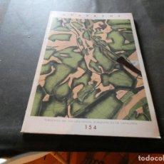 Libros antiguos: REVISTA QUADERNS ARQUITECTURA I URBANISME PUBLICACIO COLEGI OFICIAL ARQUITECTES BCN 154 PESA 450 GR. Lote 169439308