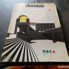 Libros antiguos: REVISTA DE ARQUITECTURA EN INGLES DOMUS PESA 600 GRAMOS NUMERO 67 NOVMIEMBRE 1986. Lote 169440492